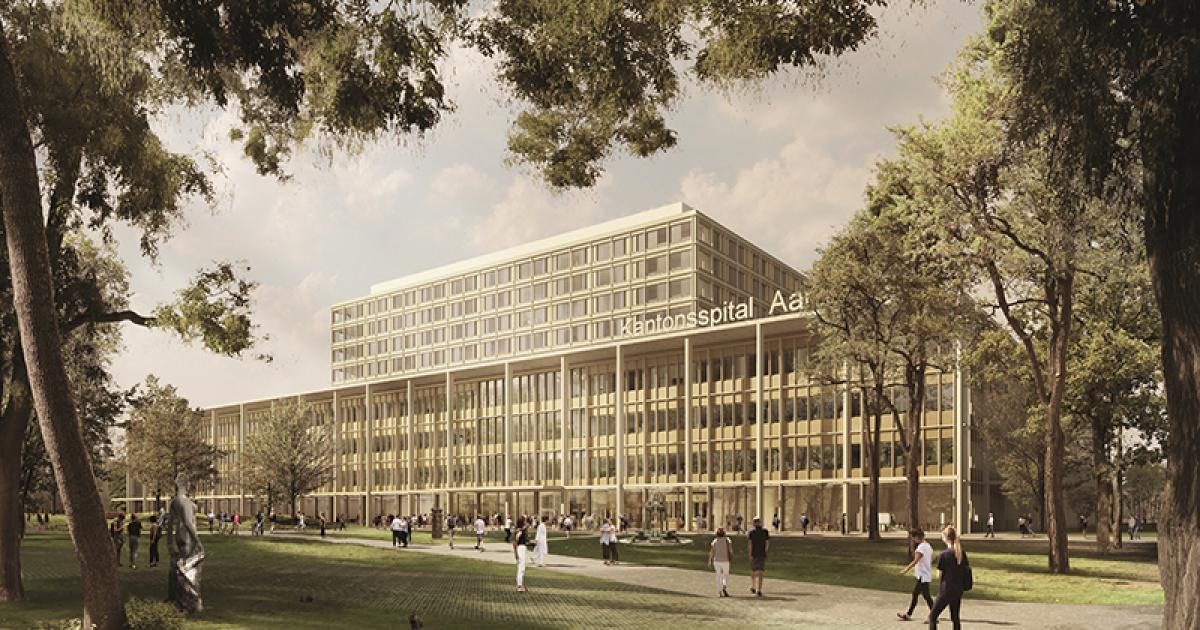 Neubau Kantonsspital Aarau Espazium
