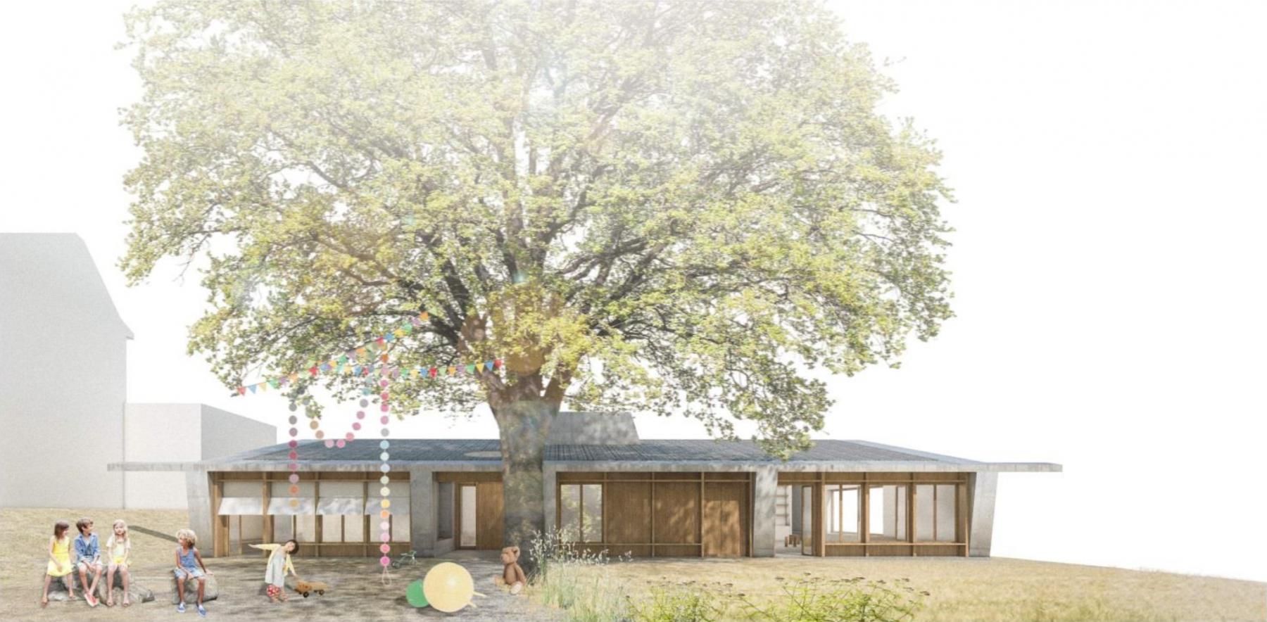 Erweiterung Schulanlage Oberdorf Sulgen, Beer&Merz Architekten, Paluma
