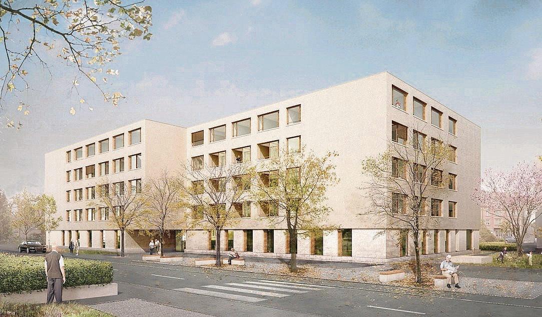 Neubau Alterszentrum Fürstenland, Gossau, Gähler Architekten, OCCUPARE