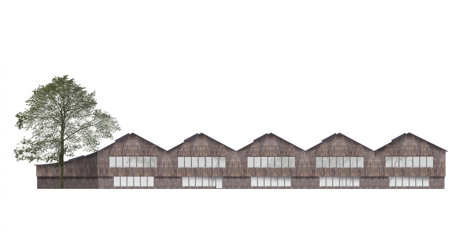 Neubau Primarschulhaus Feld, Azmoos
