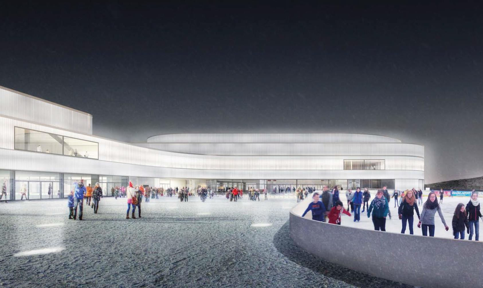 Nouveau centre sportif de Malley, PONT12 ARCHITECTES, H2O