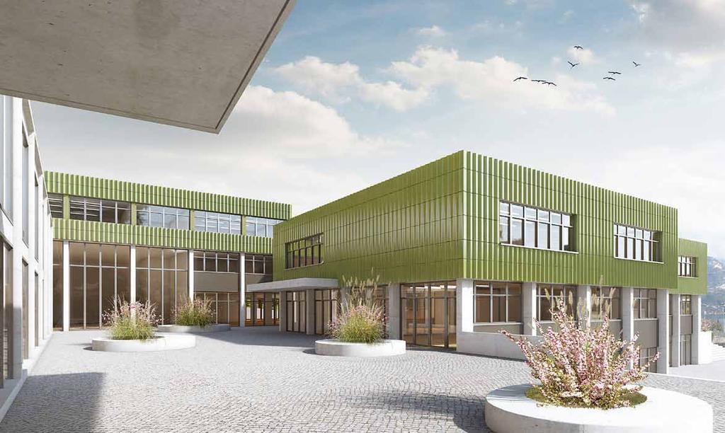 Sanierung und Erneuerung Schulanlage Grossmatt, Hergiswil, Schmid Ziörjen Architekten, PHOENIX