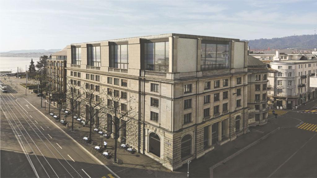Sanierung Geschäftshaus Bahnhofstrasse 3, Zürich, Studio Märkli