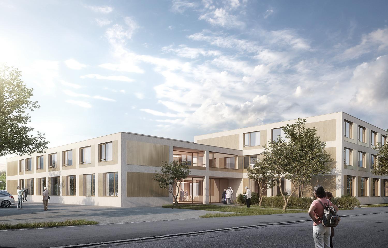 Alters- und Pflegeheim, Lilienweg, Köniz, brügger architekten | extrā Landschaftsarchitekten, Pachisi