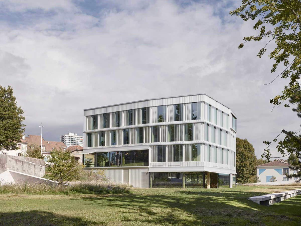 Bâtiment administratif pour la ville de Lancy, BCR architectes & Brunn + Butty architectes, Point