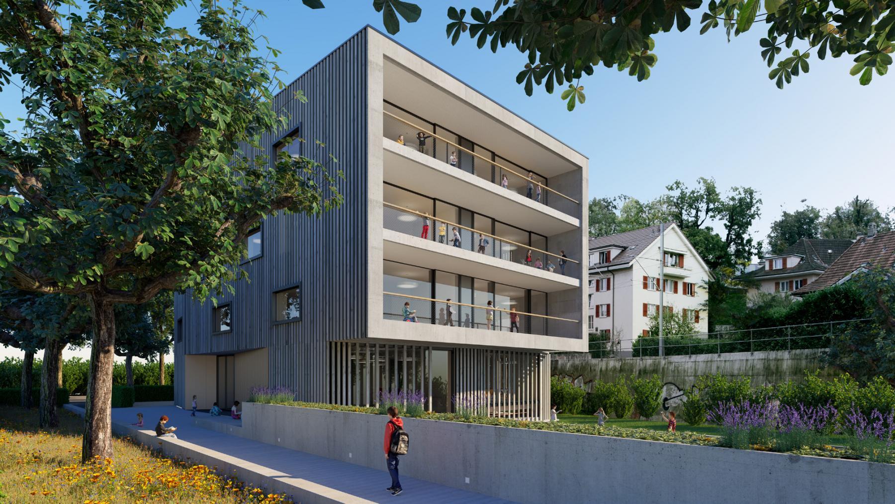 Erweiterung Volksschule Pestalozzi, Bern, Team spaceshop Architekten, so wi di grosse