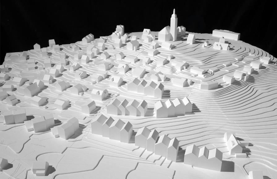 Ideenwettbewerb Arealentwicklung Unterdorf, Speicher, ARGE Suter Traxler Architekten + Häni Joho Architekten, Uccellini