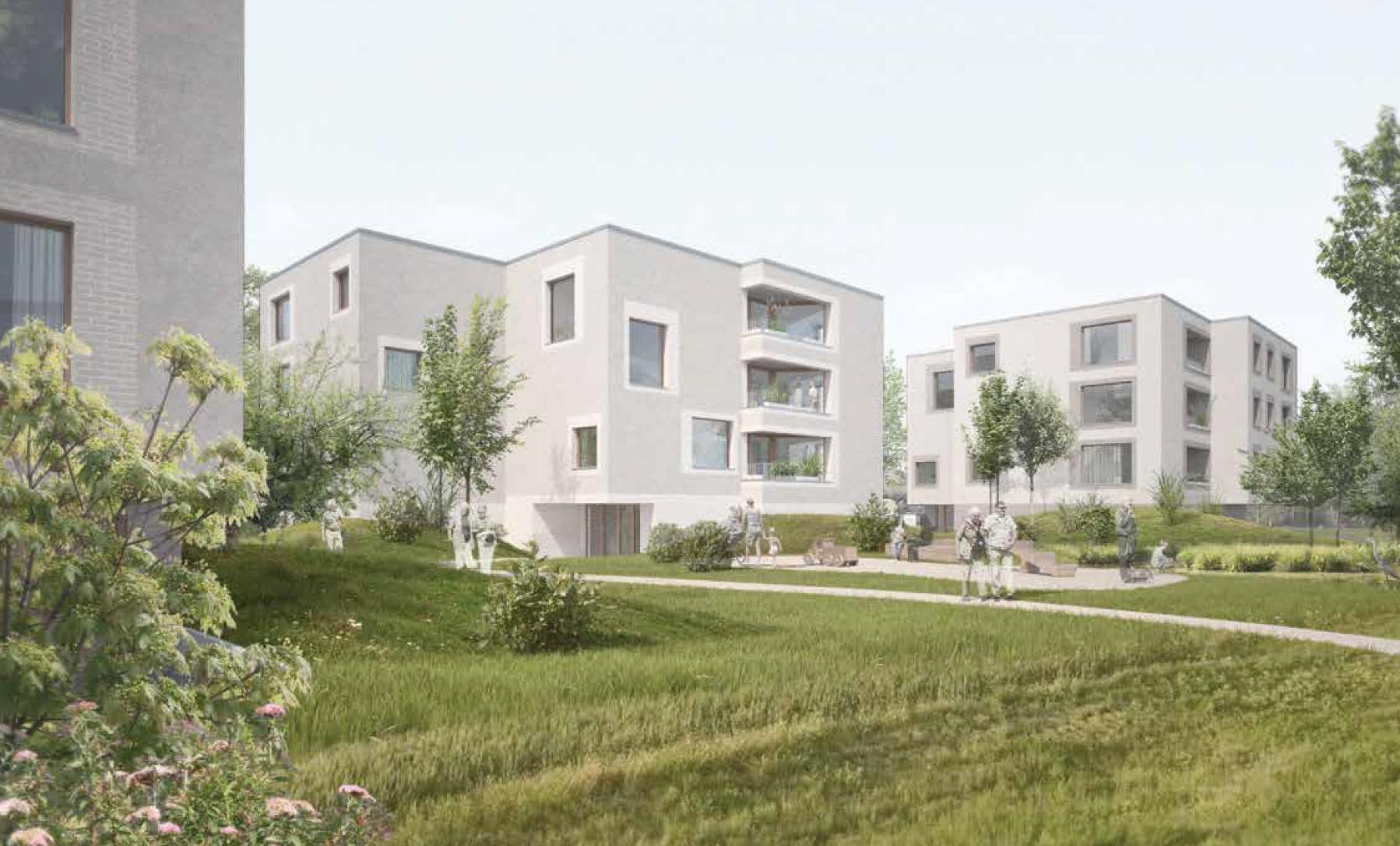 Neubau Alterswohnungen, Sugiez, 2b architectes, HAPPY DAYS