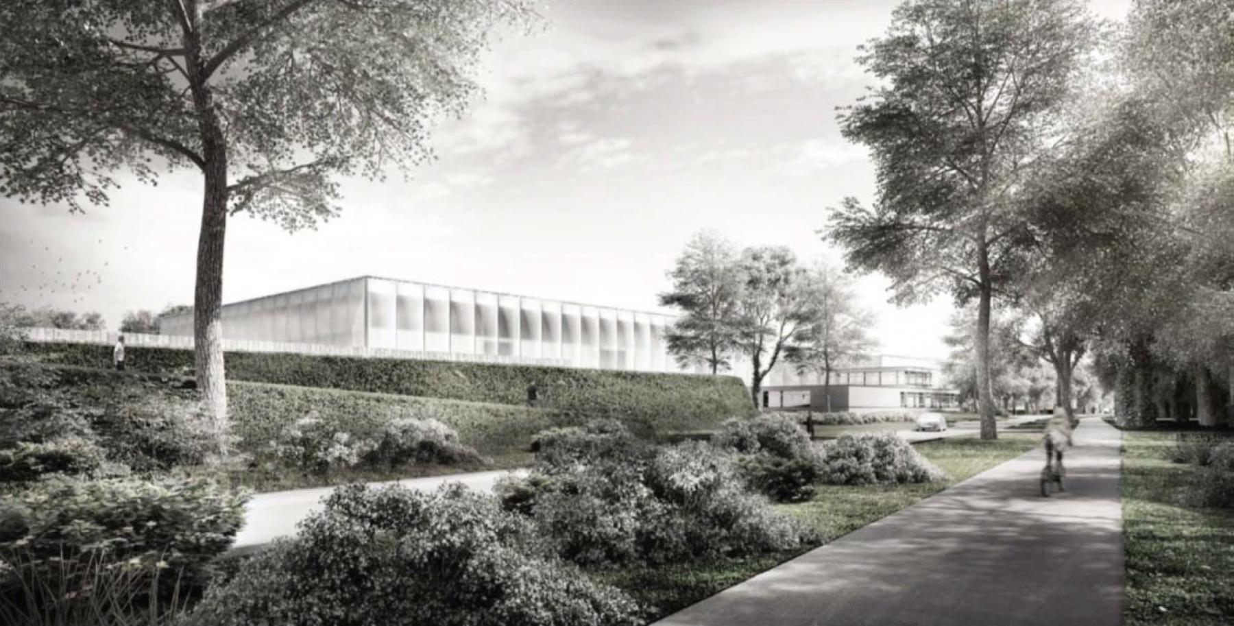 Station d'épuration de Vidy, concept architectural + concept paysager, Lausanne, m+n architectes & Séraphin Hirtz, MONA