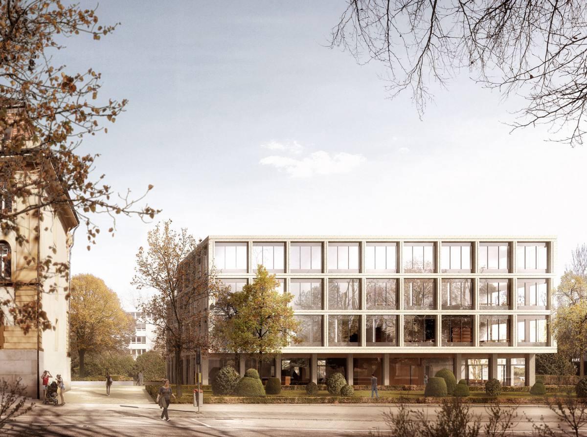 Verwaltungszentrum Grenchen, Zimmer Schmidt Architekten, remis