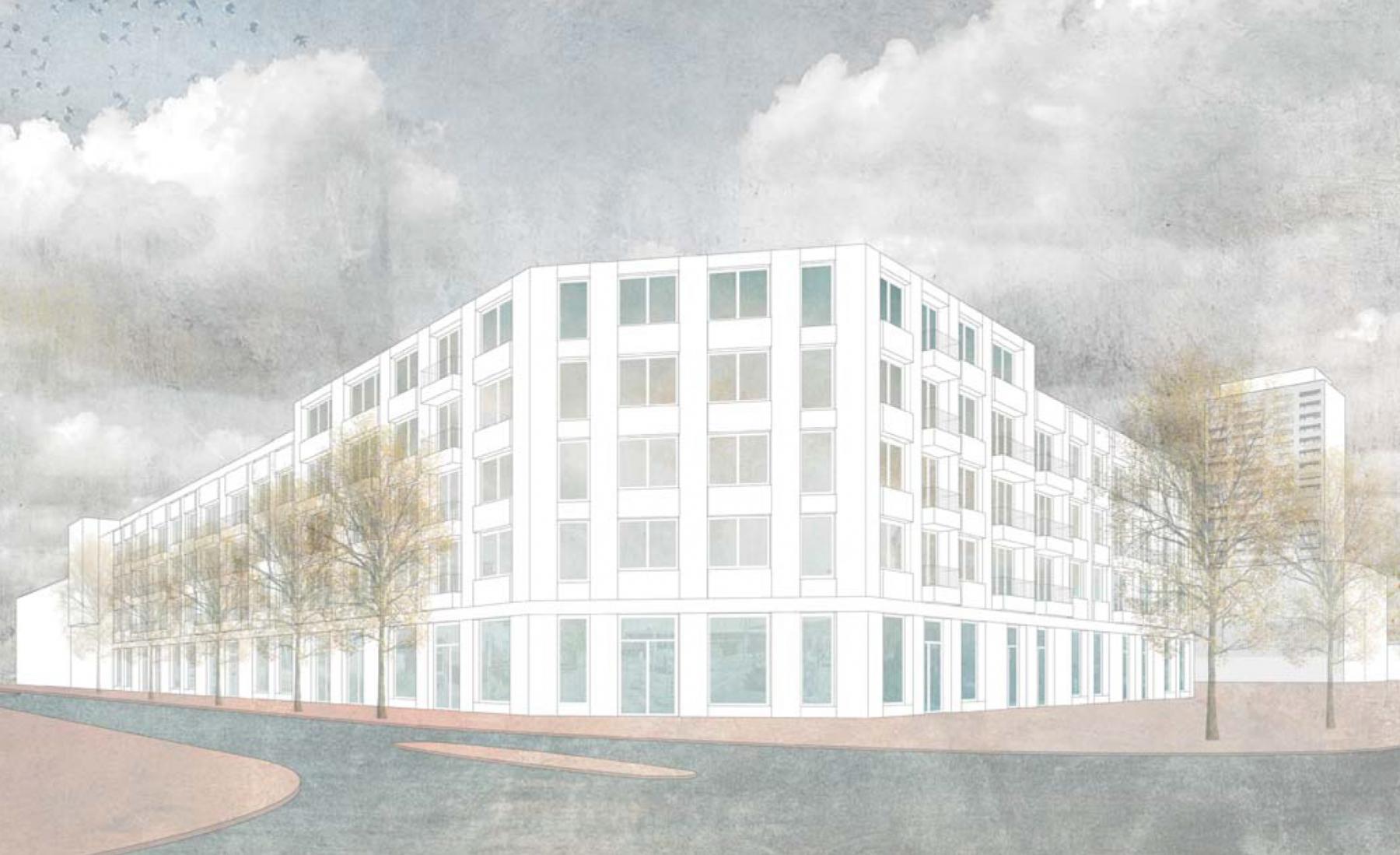 Wohnsiedlung Herdernstrasse, Zürich-Aussersihl, NIMBUS Architekten, BIMBO D'ORO