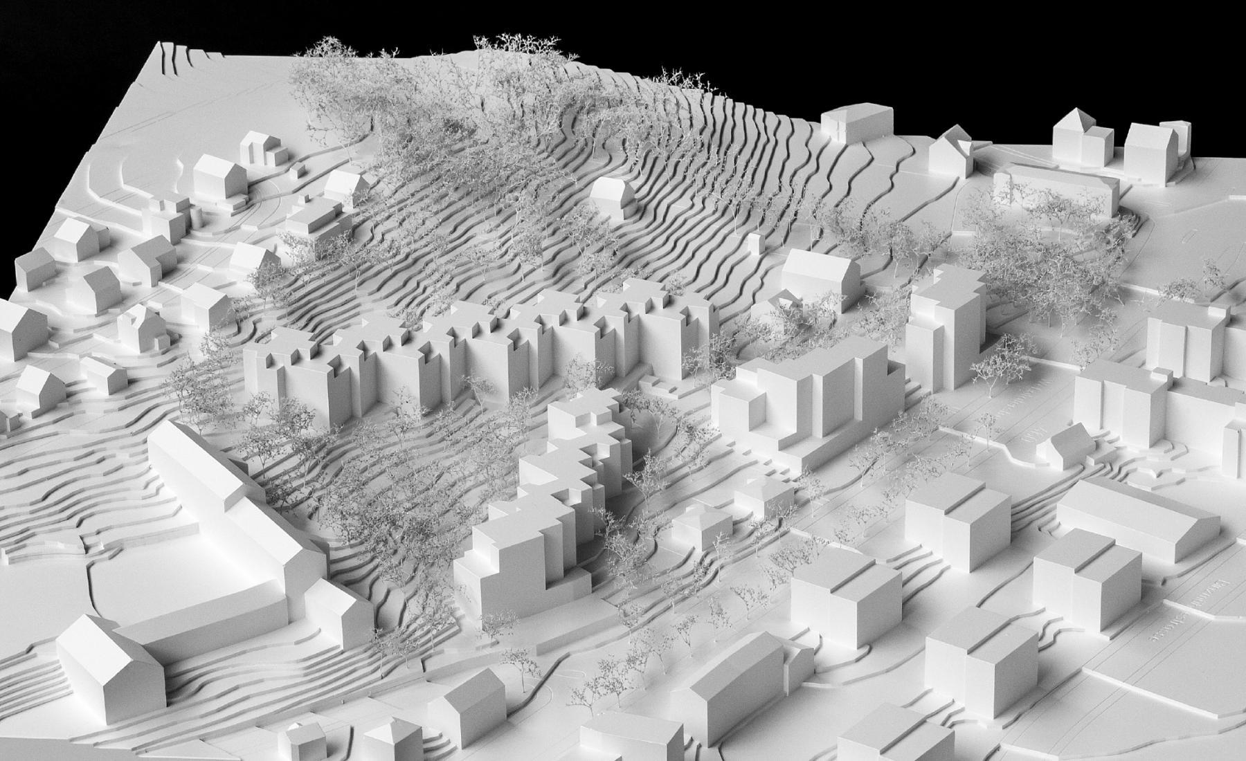 Neubau Wohnsiedlung Obsthaldenstrasse, Zürich-Affoltern, Schneider Studer Primas Architekten & atelier tp tijssen | preller landschaftsarchitekten, pranca