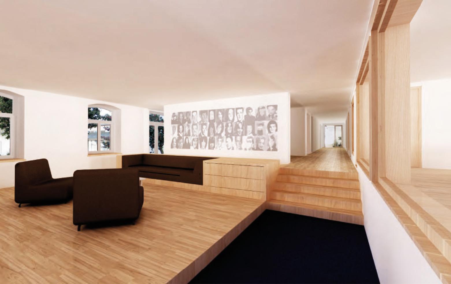 Erneuerung Schulanlage Bernrain, Sanierung Internatsgebäude, Kreuzlingen, S2 / Stucky Schneebeli / Architekten