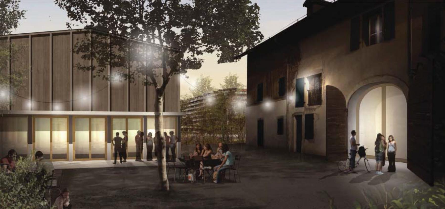 Maison de la famille, transformation et agrandissement de la Ferme du Pommier, Grand-Saconnex, NAZARIO BRANCA & ANDREA CALANCHINI ARCHITECTES, Cidre
