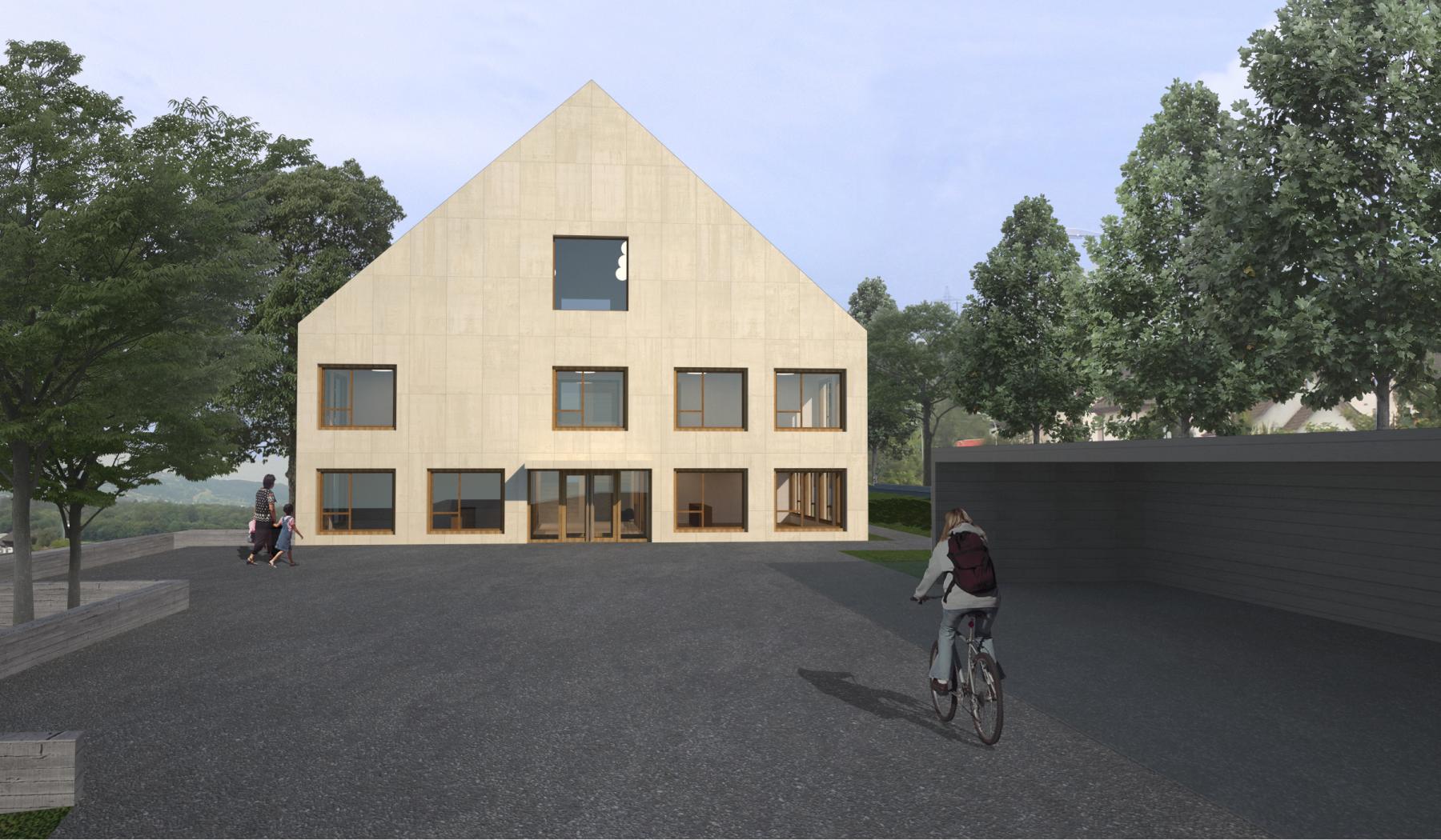 Neubau Gemeindehaus und Bauamt, Fischbach-Göslikon, GREDIG WALSER ARCHITEKTEN, ursus