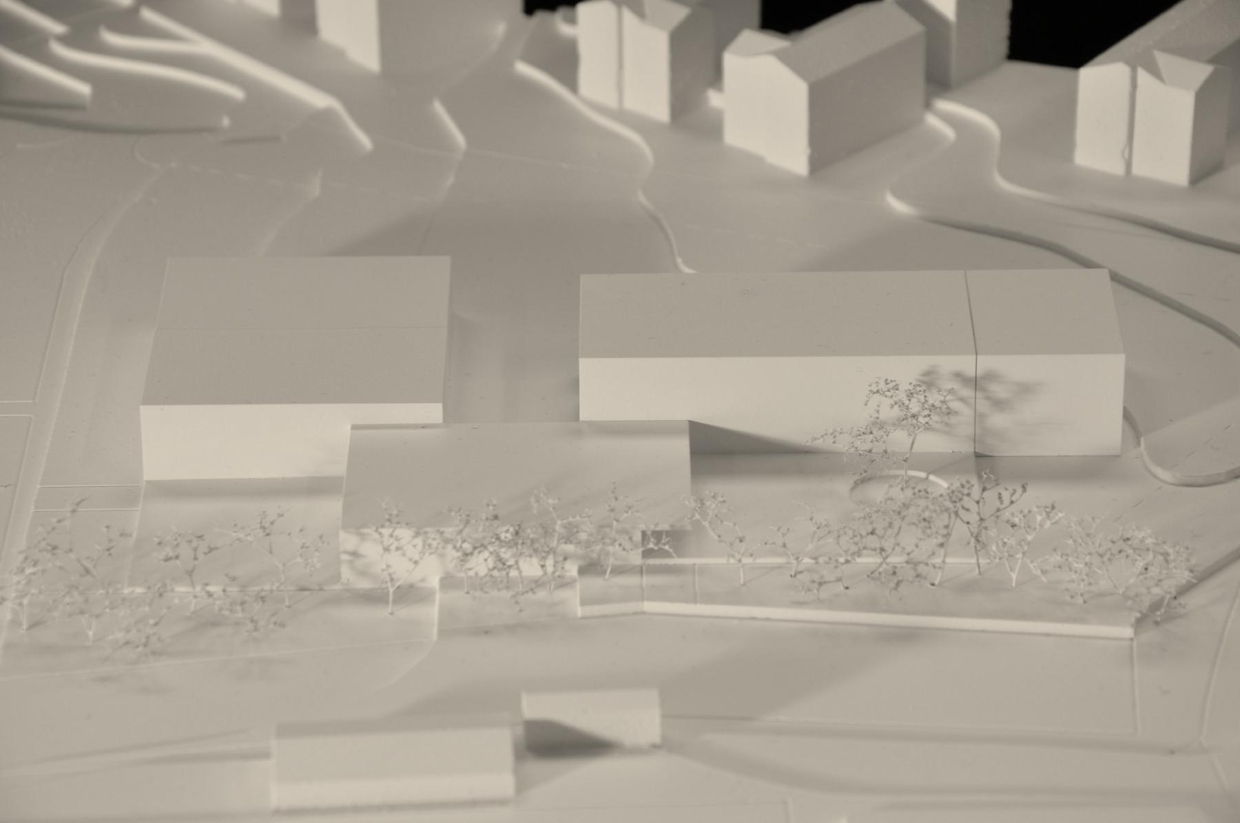 Nouvelle école du Platy, Villars-sur-Glâne, d4 atelier d'architecture, TRIO