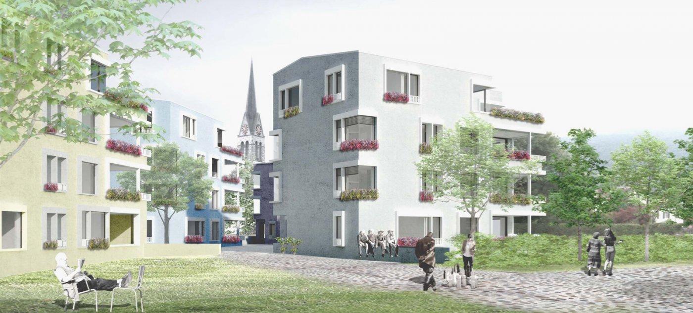 Wohnen «An der Wassergasse» in Grabs, Deon Architekten, Sanja Amailia