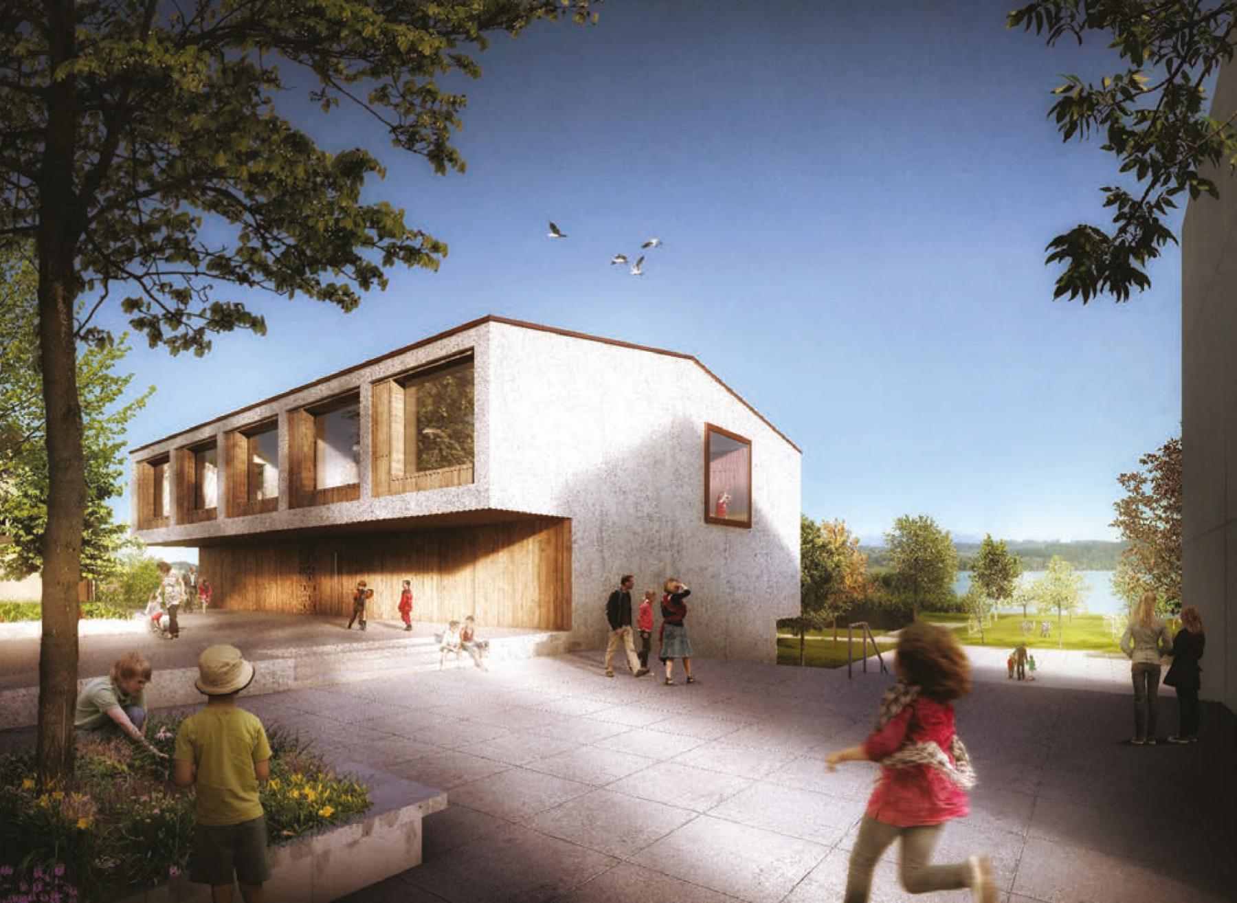 Agrandissement de l'école primaire, Bas-Vully, Nant, MJ2B Architekten, WILLIE