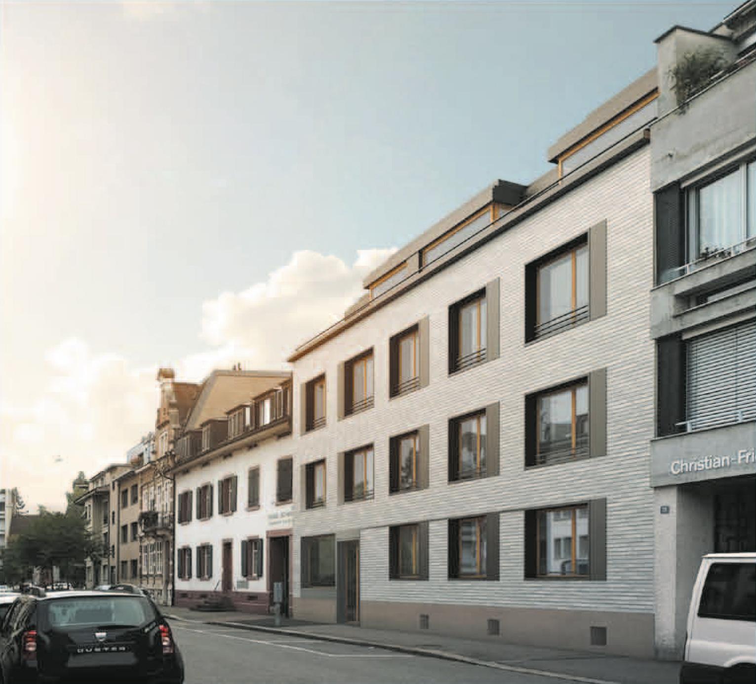 Ersatzneubau, Socinstrasse 9/11, Basel, Osolin & Plüss Architekten, LOLE Y MANUEL
