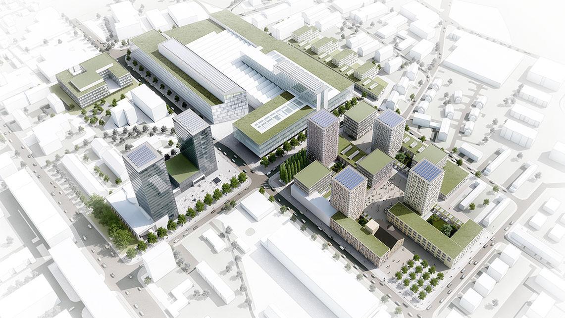 V-ZUG Areal, Zug, Hosoya Schäfer Architects, AREAL ALS LABOR