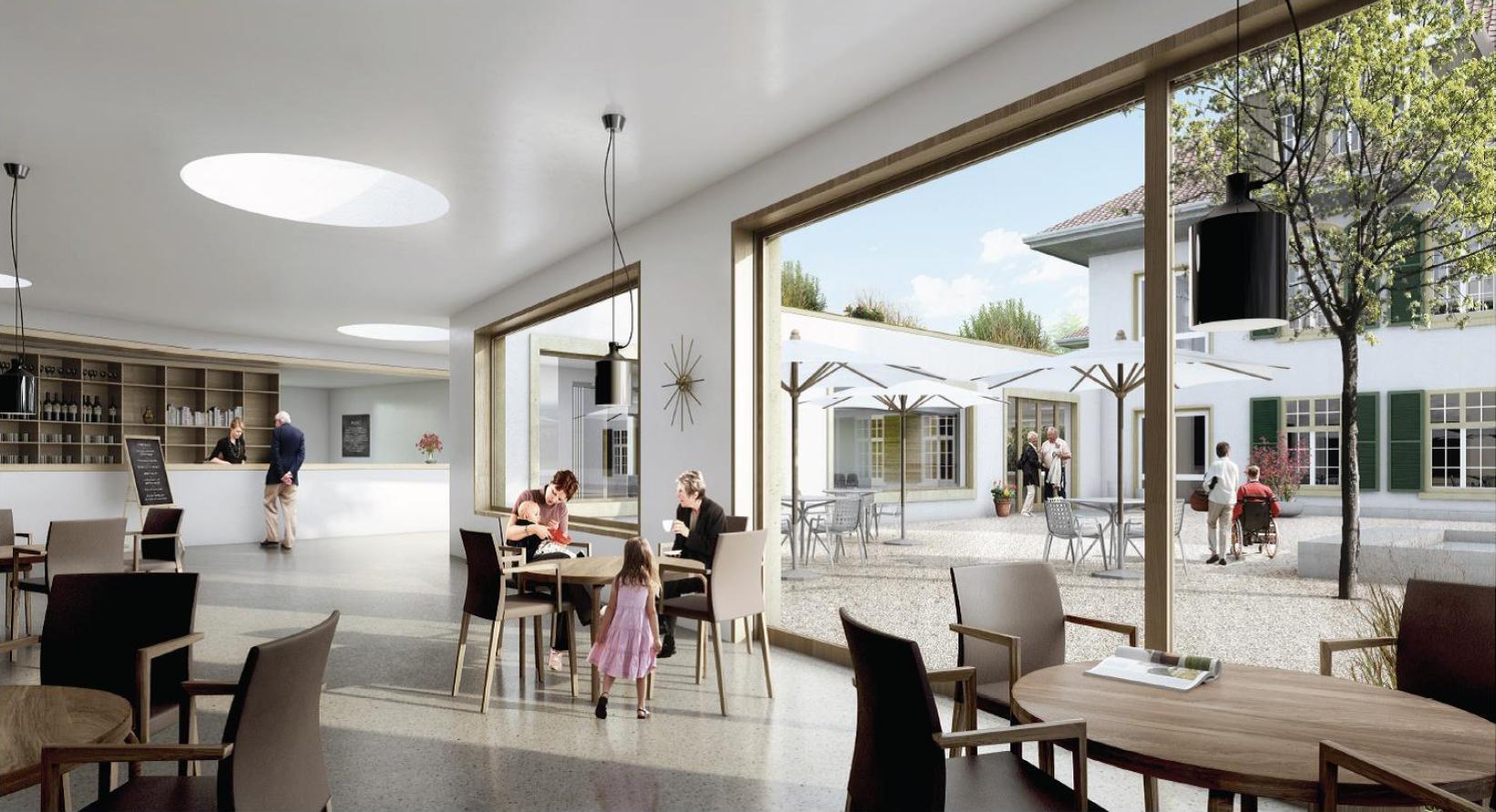 Schlössli Biel‐Bienne, Zentrum für Langzeitpflege, ARGE wahlirüefli rollimarchini Architekten, triplette de belleville