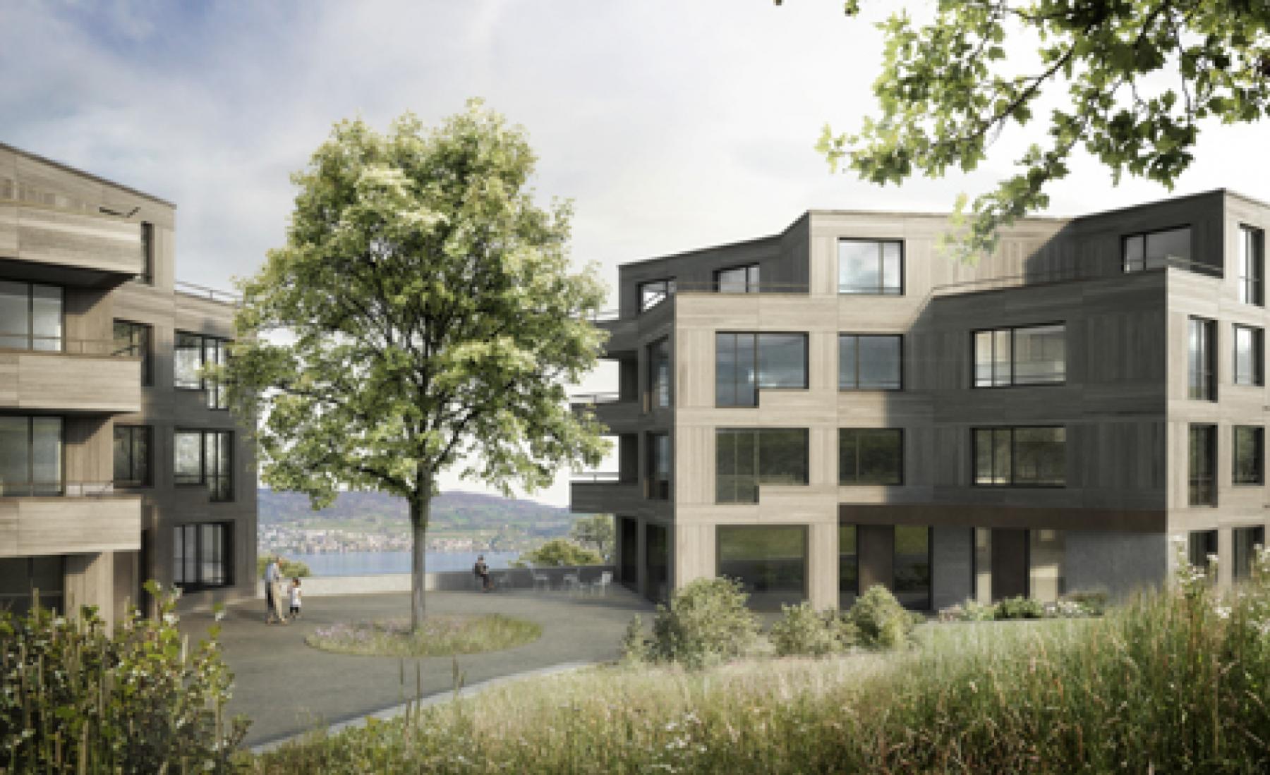Generationenübergreifendes Wohnen auf dem Strickler Areal, Horgen, neff neumann Architekten, himbeer