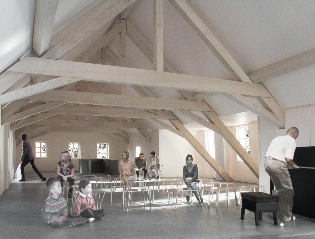 Maison du Désert, Lausanne, LVPH Architectes / Thomas Jundt Ingénieurs civils