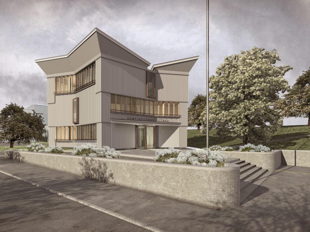 Neubau Gemeindehaus Hittnau, Edelmann Krell Architekten, KALEIDOSKOP