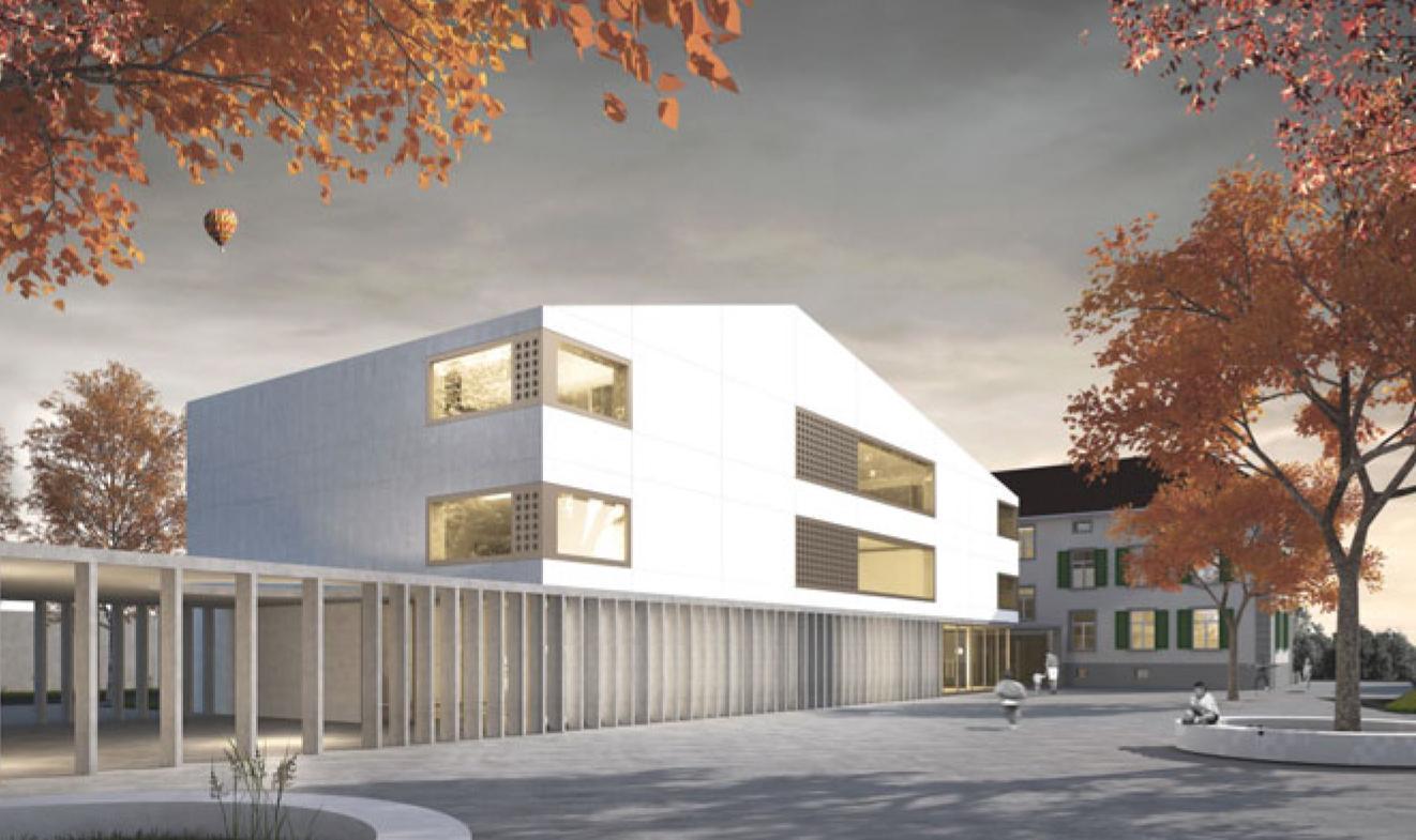 Schule Kestenholz, ern + heinzl Gesellschaft von Architekten, Kaspar