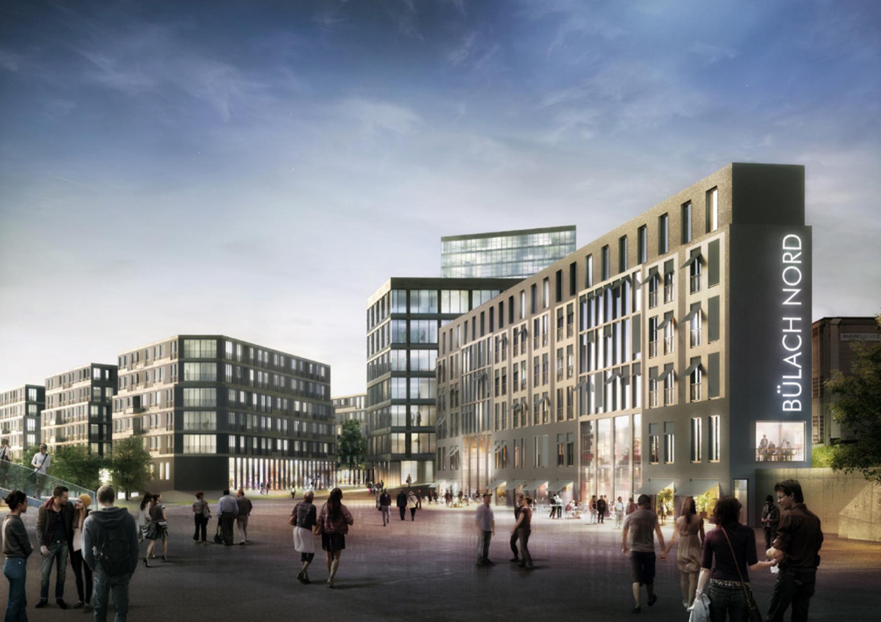 Vetropack-Areal, Bülach Nord, Duplex Architekten