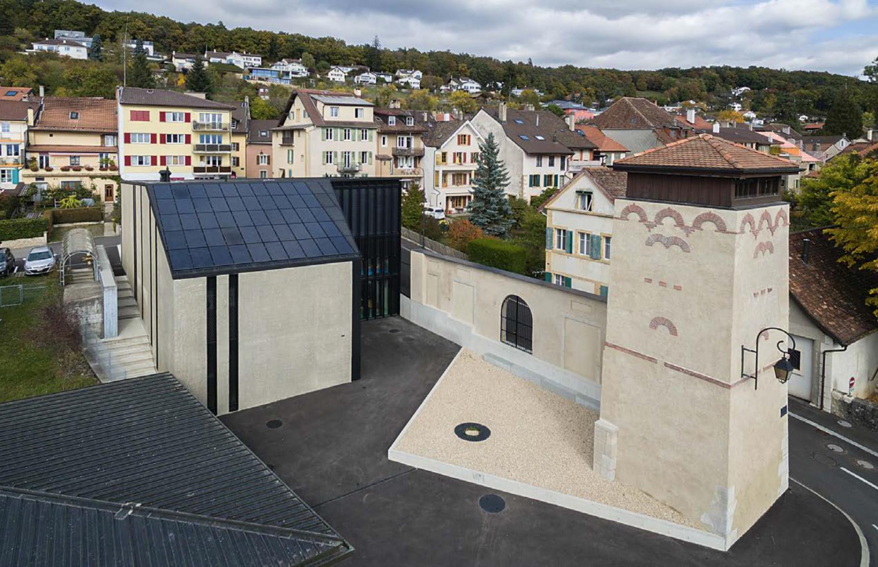 Projet de structure d'accueil, rue de la Croix, Corcelles-Cormondrèche, Fournier Maccagnan architectes, IL NEIGE DANS MON JARDIN
