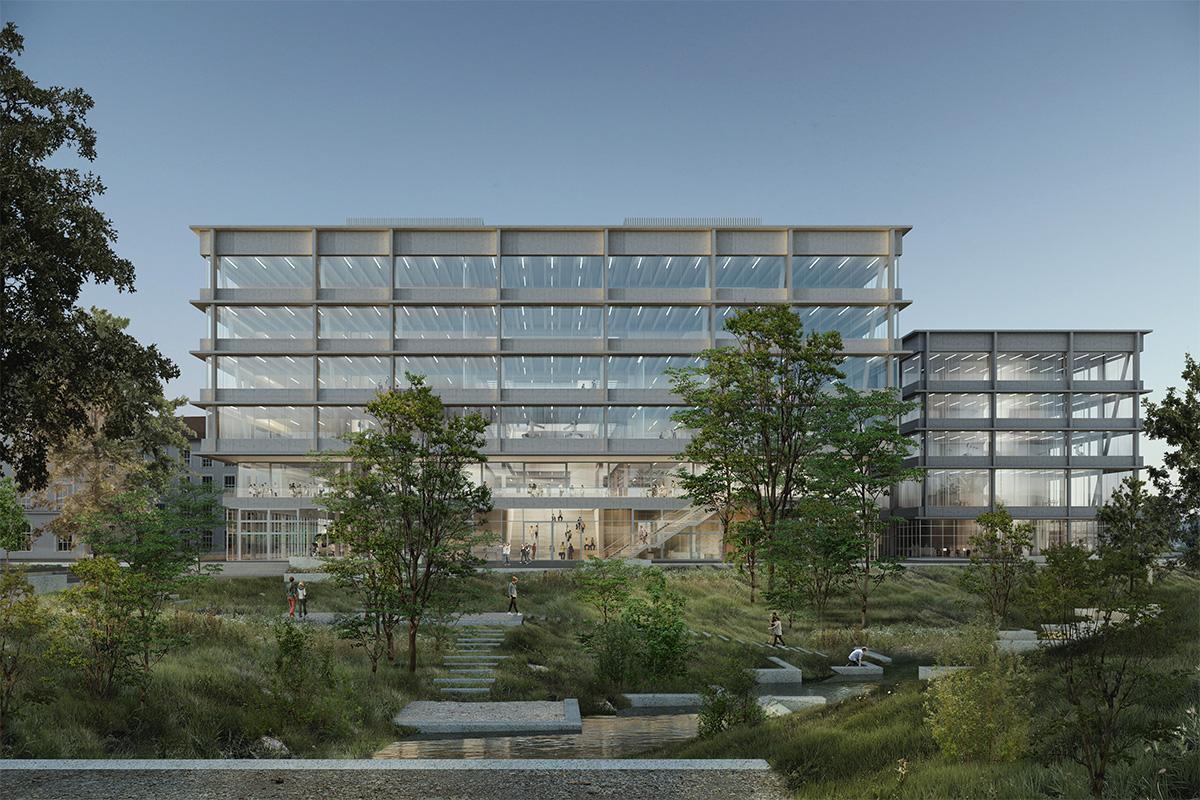 Il progetto per il campusTechnikumstrassedi Graber Pulver a Winterthur
