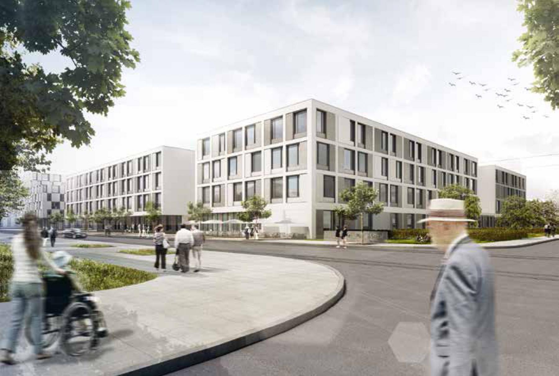 Neubau Felix Platter-Spital 2.Stufe