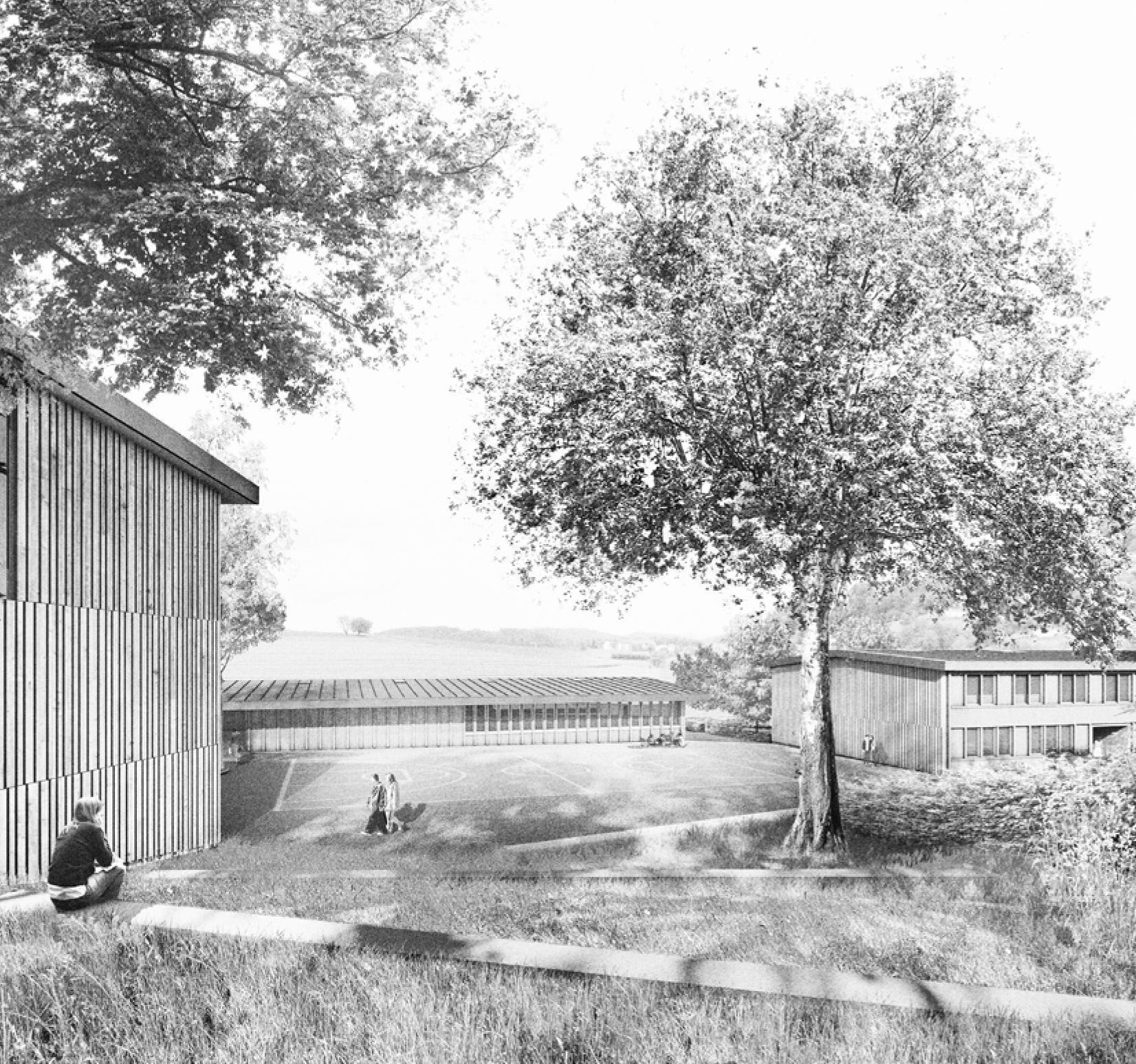 Neubau Kompetenzzentrum, Krisen und Notaufnahmen Aargau (KUNA), Egliswil