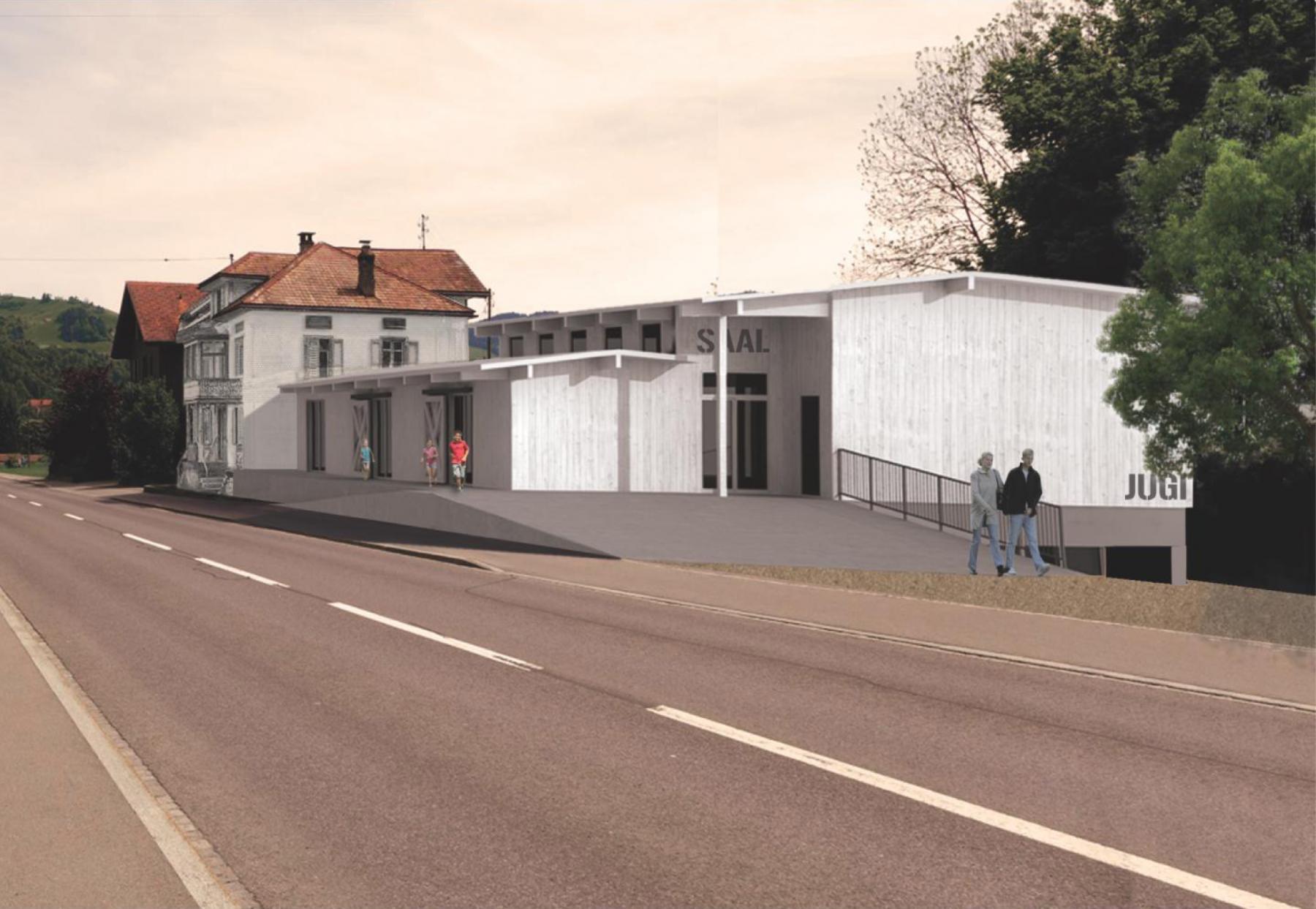 Altes Bahnhöfli - Kinderkrippe und Treffpunkt, Oberägeri, ARGE Kaden Architekten   Junod Epper Bauagentur, CARGO