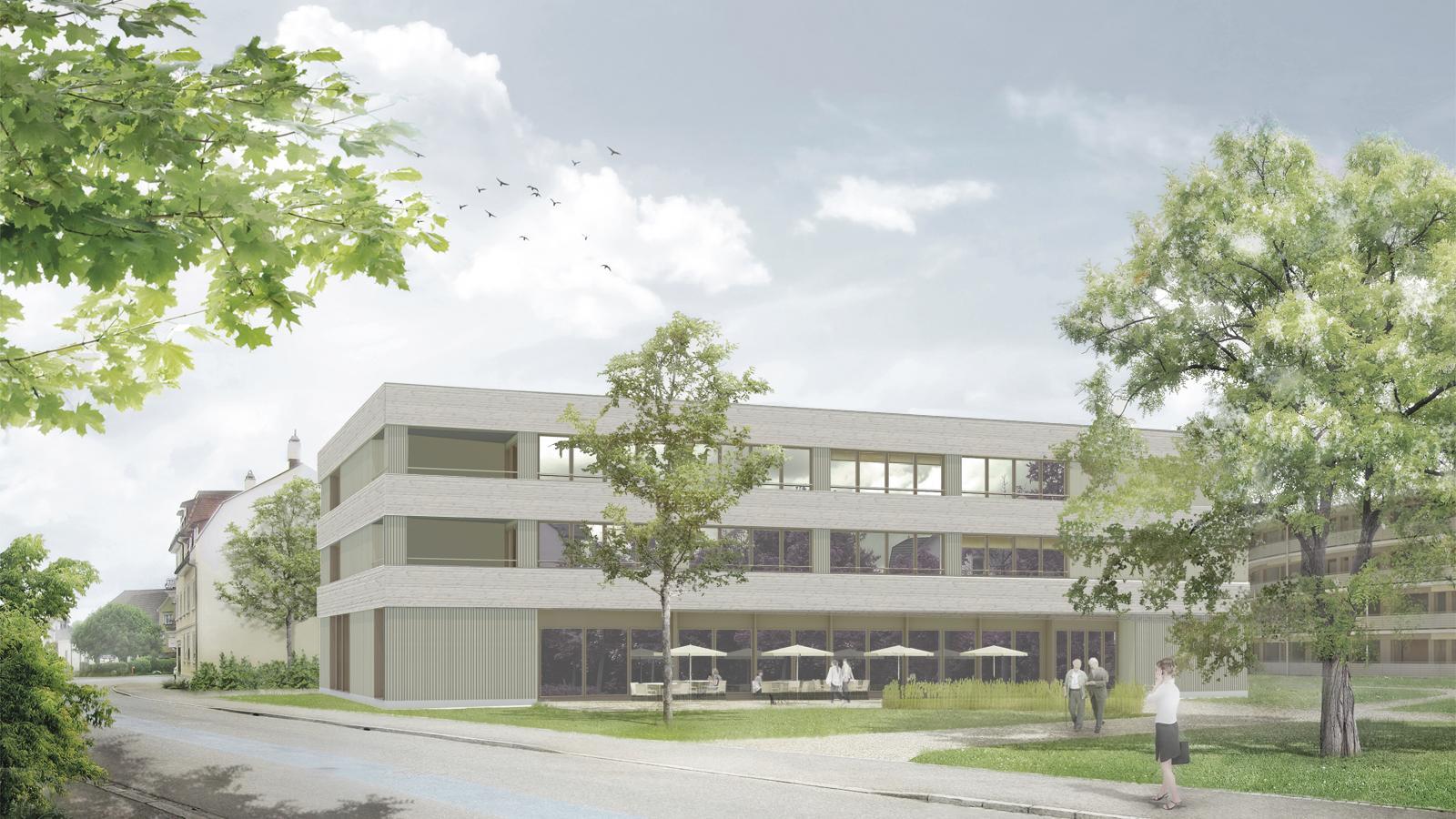Erweiterung Alters- und Pflegeheim Gartenhof, Steinach, Aschwanden Schürer Architekten, schotstek