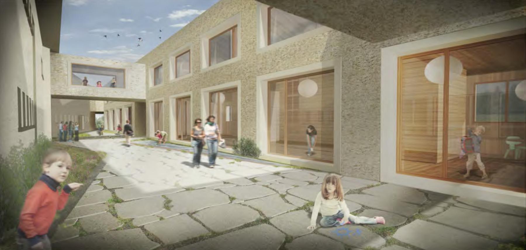 Projektwettbewerb Erweiterung Primarschule Evilard, Dolmus Architekten, Penny Lane