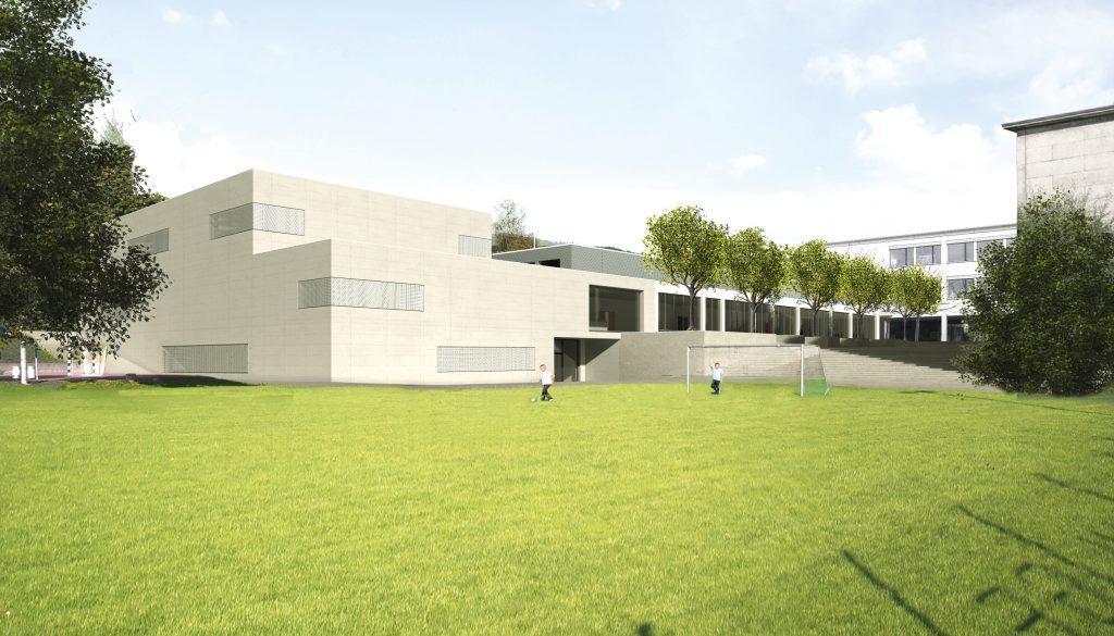 Erweiterung Sportanlage Hinterbächli, Oberrohrdorf, Steiger Architekten