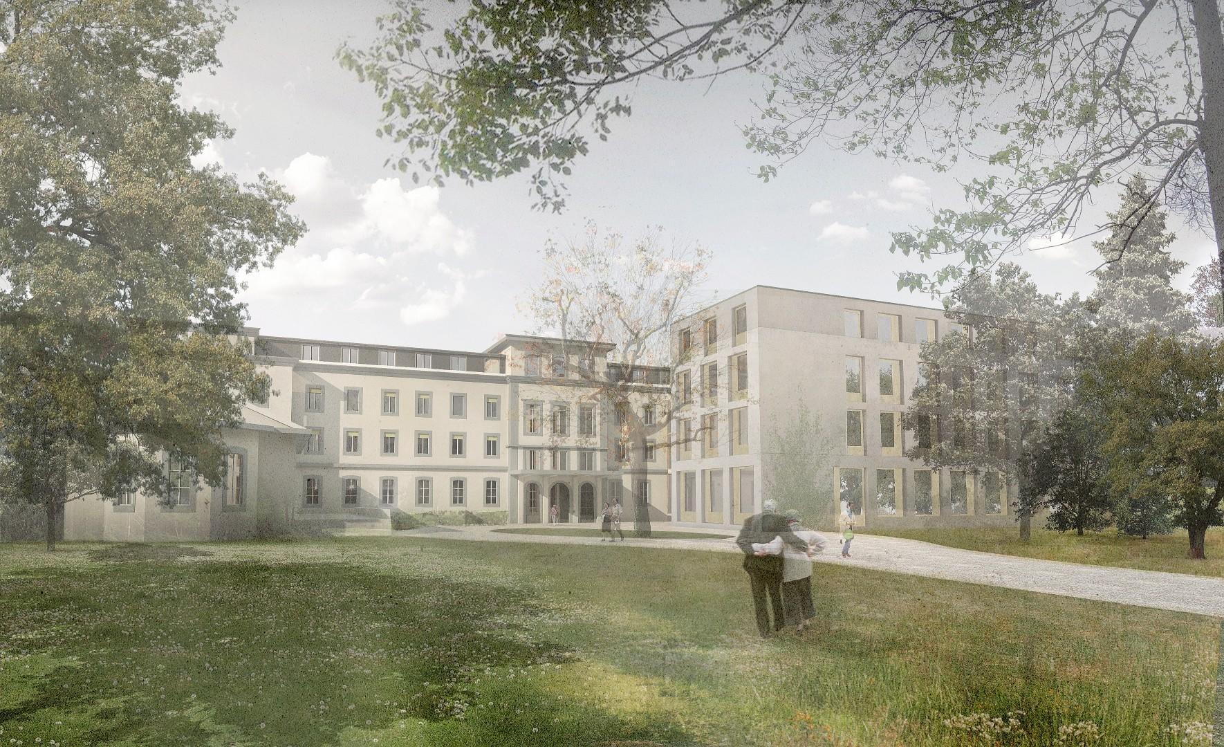 Concours d'architecture - Extension et restructuration des Berges du Léman, Vevey