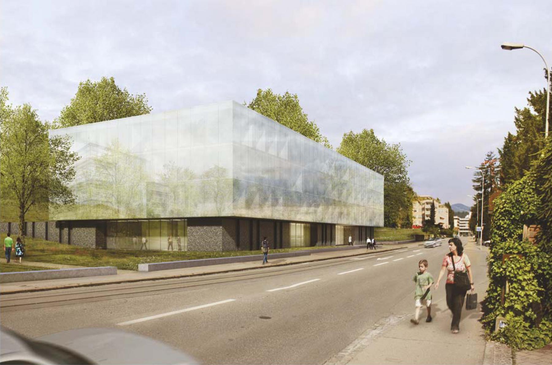 Neubau Laborgebäude, Kantonsspital Aarau AG, Aarau, Burckhardt + Partner, Verity