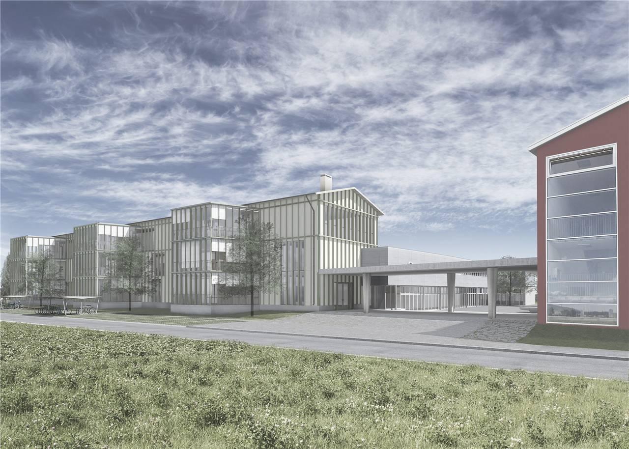 Um- und Erweiterungsbauten der Schulanlage Schafisheim, ARGE Rohrbach Wehrli Pellegrino mit Lukas Imhof Architekten, Lena