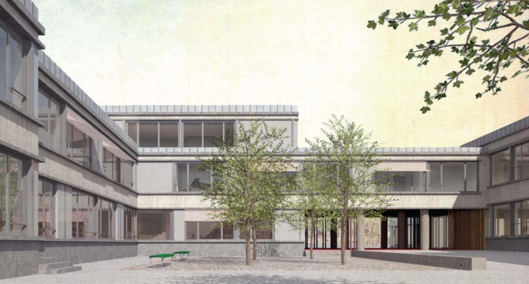 Erweiterungsbau Primarschule Rupperswil, Schmid Schärer Architekten, Ferdinand