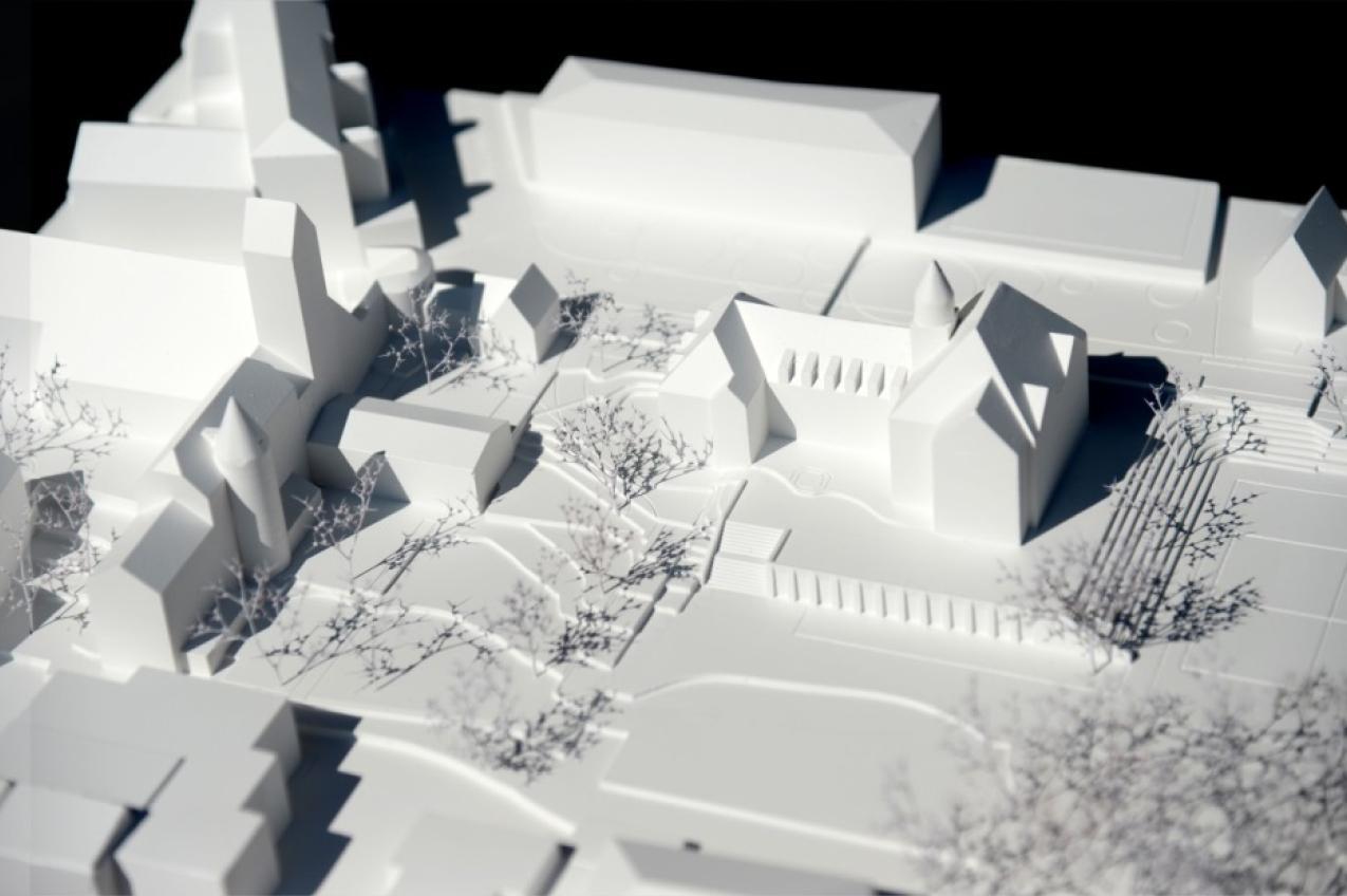 Gesamtsanierung und Erweiterung Schulhaus Stapfer, Brugg, Liechti Graf Zumsteg Architekten, Ob die Granatbäume blühen