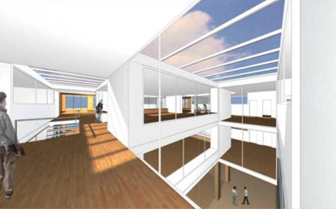 Ideenstudie Neubau Quartierschulhaus Zofingen, ARGE Kim Strebel Architekten & Gérard Prêtre Architekten
