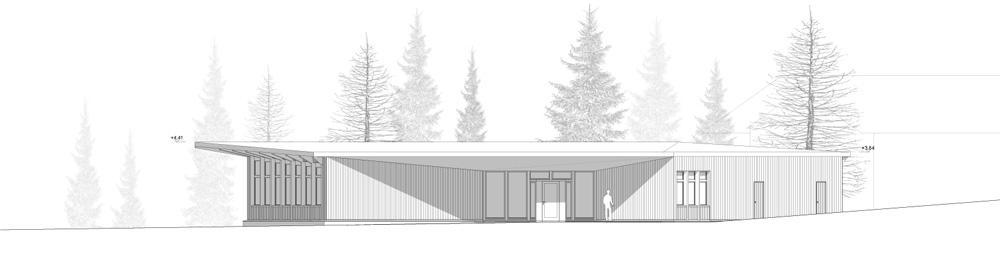 Neubau Kindertagesstätte (KITA), St. Moritz, ARGE Lutz&Buss Architekten + Erwin Gruber Architekt, ZAUNKÖNIG