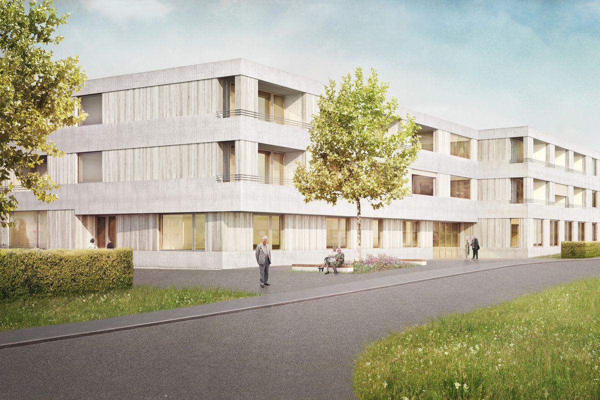 Studienauftrag Wohnen im Alter in Gaiserwald, Standort 1. Engelburg (und 2. Abtwil), Gähler Architekten
