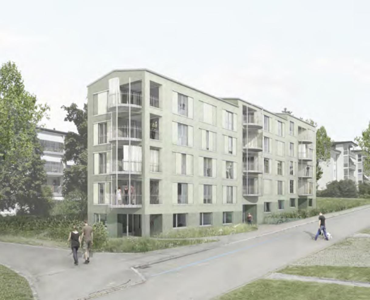 Wohnhaus Reutlen, Kloten, Vetter Schmid Architekten, SCALINATA