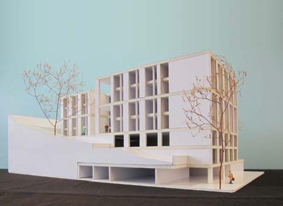 Neubau Marthaheim Kreuzackerstrasse St. Gallen, Oestreich + Schmid, cardamines