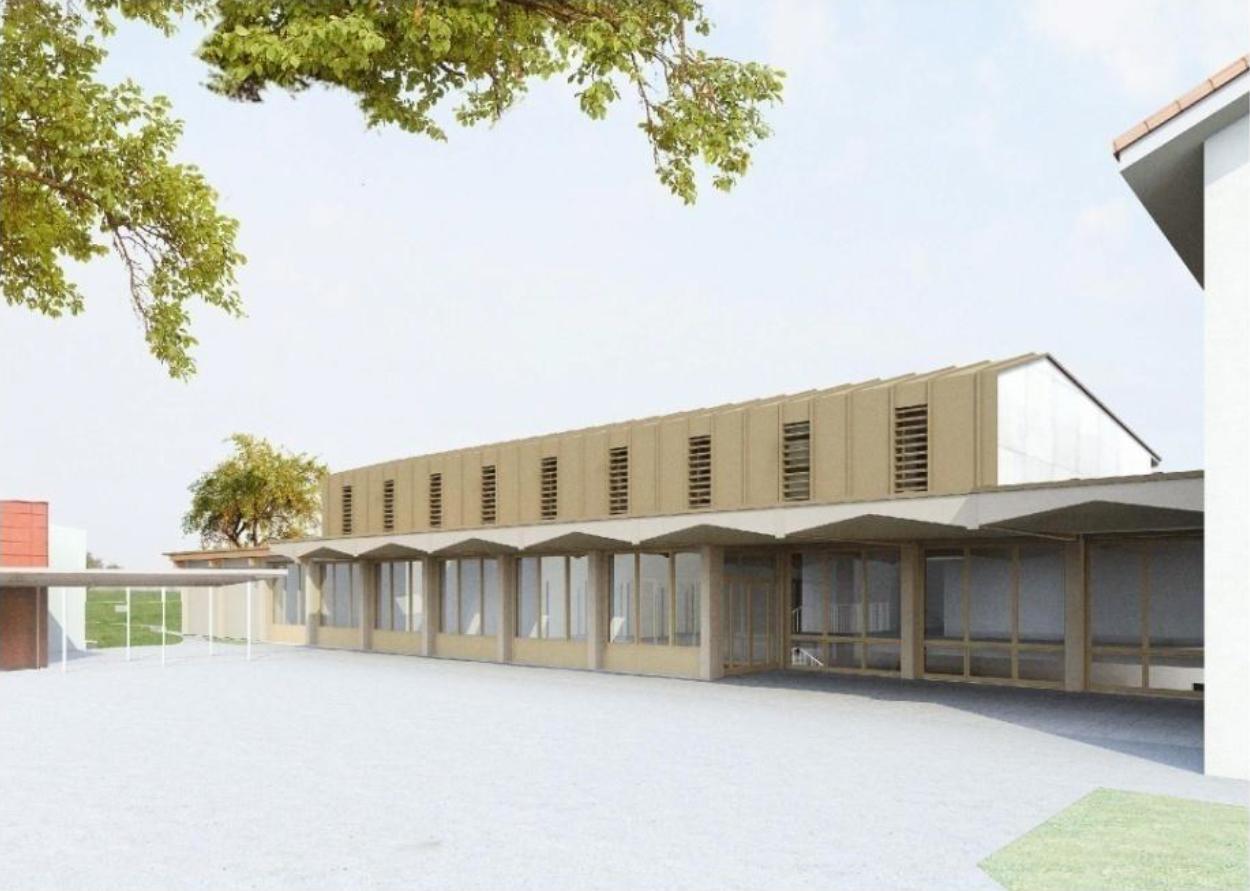 Neubau Mehrzweckhalle Schulanlage Alterswilen Kemmental, ARGE Bienert Kintat Architekten + Archatelier Preza Pajkic, Equilibre