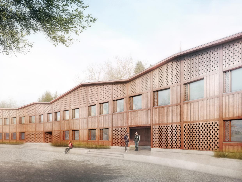 Umbau und Erweiterung Vollzugszentrum Bachtel, Hinwil, Gret Loewensberg Architekten, DAS GEHÖFT